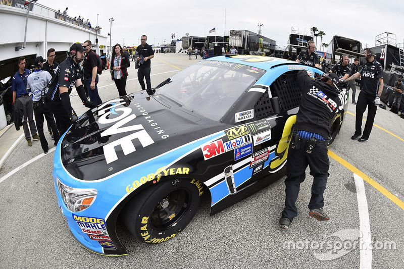 Car of Michael McDowell, Leavine Family Racing Chevrolet