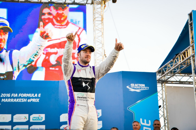 Podium: Sam Bird, DS Virgin Racing