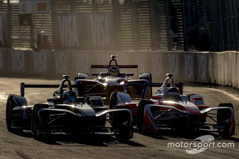 Maro Engel, Venturi; Nick Heidfeld, Mahindra Racing