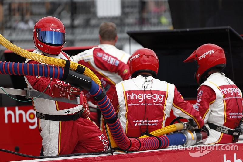 Marco Andretti, Andretti Autosport Honda crew