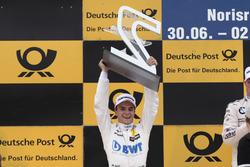 Podium: second place Lucas Auer, Mercedes-AMG Team HWA, Mercedes-AMG C63 DTM