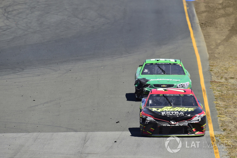 Erik Jones, Furniture Row Racing Toyota, Boris Said, Circle Sport – The Motorsports Group Chevrolet, Circle Sport / TMG Chevrolet SS