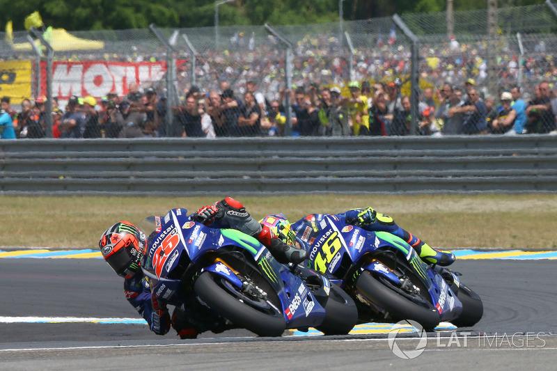 Le Mans 2017 - Duelo entre las Yamaha y caída en la última vuelta