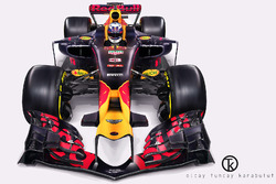 Red Bull RB13 Fantezi Tasarımı