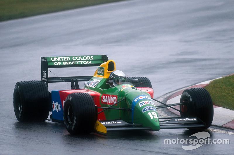 Алессандро Нанніні, Benetton B190 Ford