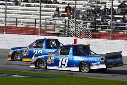 Austin Cindric, Brad Keselowski Racing Ford y Austin Cindric, Brad Keselowski Racing Ford