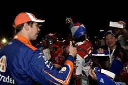 Brad Keselowski, Team Penske Ford with fans