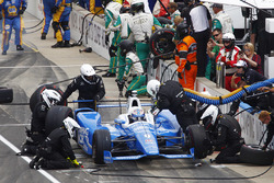 Scott Dixon, Chip Ganassi Racing Honda pit stop