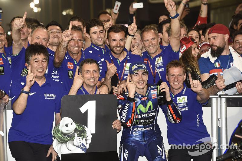 Sieger Maverick Viñales, Yamaha Factory Racing