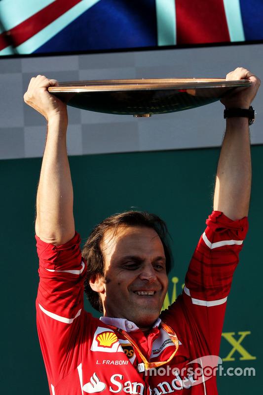 Podium: Luigi Fraboni, Motorenchef, Ferrari