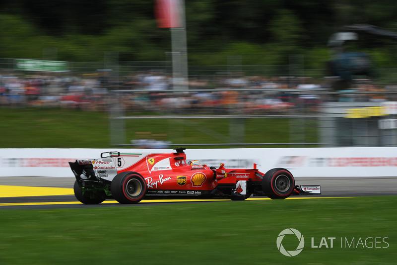 2. Себастьян Феттель, Ferrari SF70H
