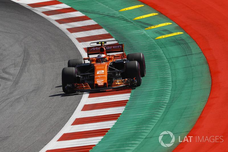 12. Stoffel Vandoorne, McLaren MCL32