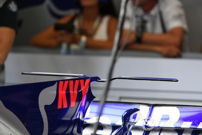 Scuderia Toro Rosso STR12 rear wing