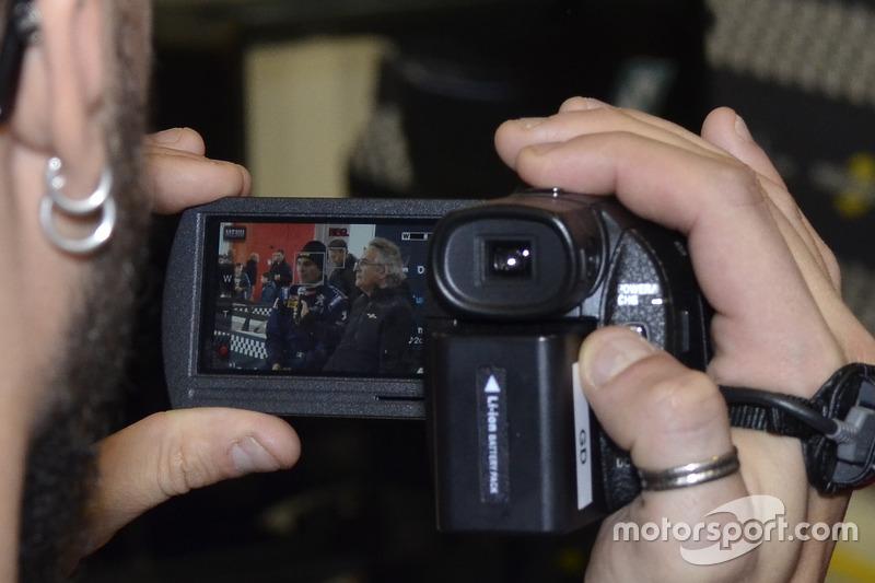 Paolo Andreucci y Franco Nugnes, Director de Motorsport.com