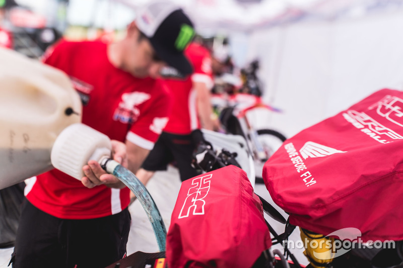 Aspectos de Monster Energy Honda Team
