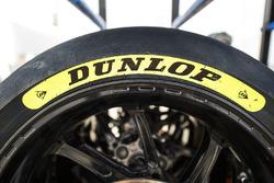 Dunlop tyre grade colour markers