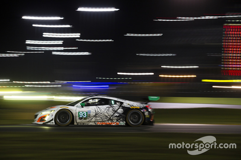 #93 Michael Shank Racing Acura NSX: Andy Lally, Katherine Legge, Mark Wilkins, Graham Rahal