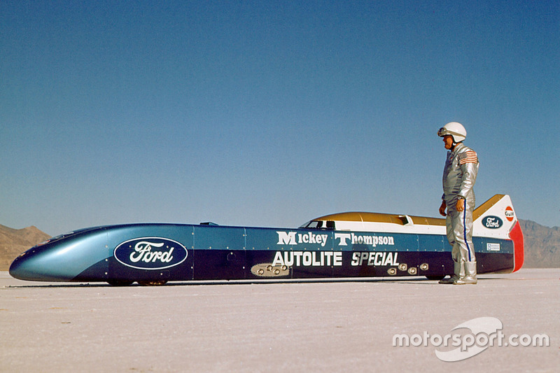 Mickey Thompson con el Challenger II