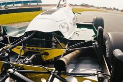 Klassieke F1-auto op Silverstone