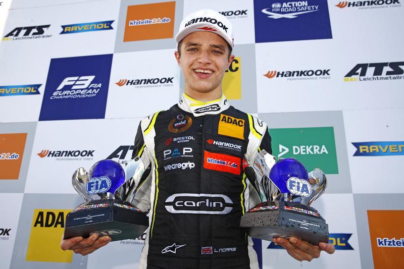 Campeón, Lando Norris, Carlin Dallara F317 - Volkswagen