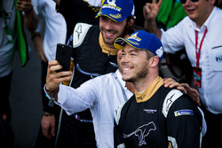 Jean-Eric Vergne, Techeetah, Andre Lotterer, Techeetah, pose for the cameras