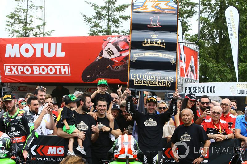 Jonathan Rea, Kawasaki Racing celebrates 60 WSBK wins