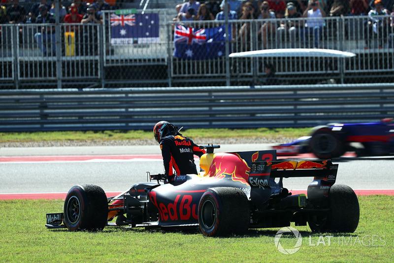 Abandon : Daniel Ricciardo (Red Bull Racing)