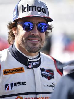 #23 United Autosports Ligier LMP2: Фернандо Алонсо