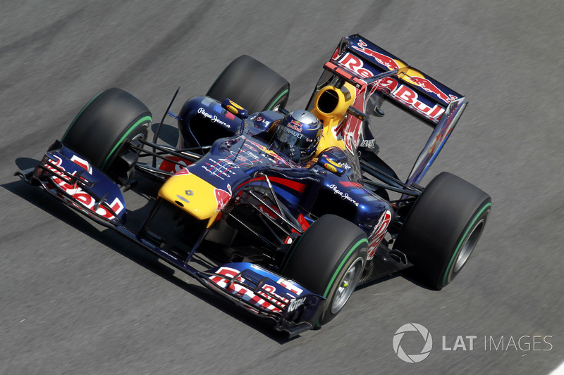 2010: Sebastian Vettel, Red Bull-Renault RB6