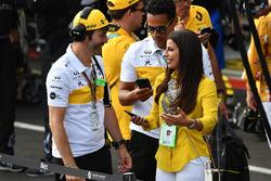 Aseel Al-Hamad, board member of the Saudi Arabian Motor Federation and FIA Saudi Arabia Representative of Women in Motorsport Commission on the grid