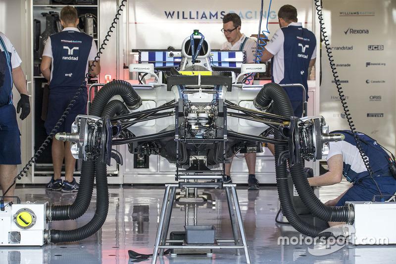 Williams FW40: Frontpartie