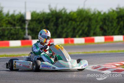 Vettel test Tony Kart