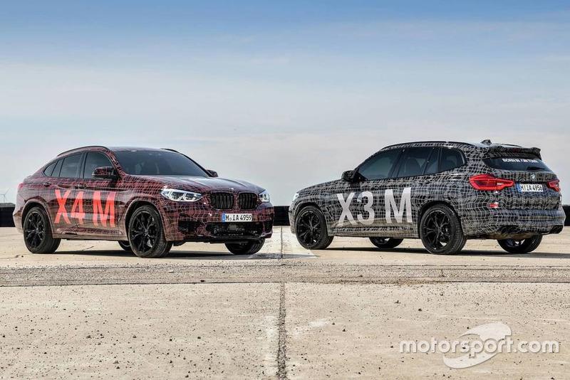 BMW X3 M та X4 M