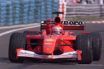Winnaar Michael Schumacher, Ferrari F2001