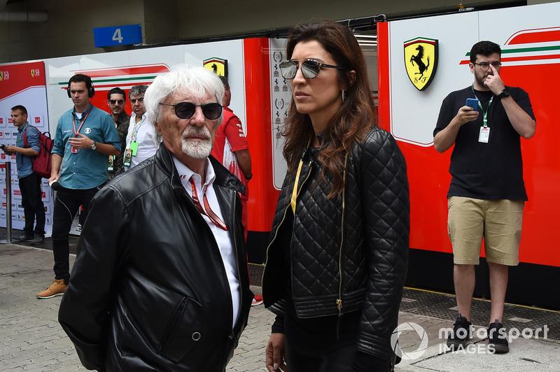 Bernie Ecclestone ve Fabiana Ecclestone