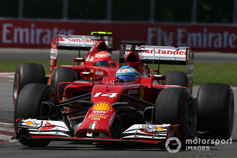 Fernando Alonso, Ferrari F14 T, Kimi Raikkonen, Ferrari F14 T
