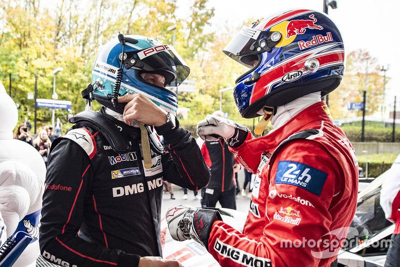 Marc Lieb, Porsche Team, Mark Webber, Porsche Team