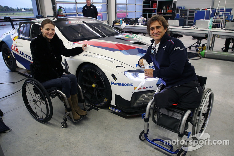 Nathalie McGloin, FIA Disabilty and Accessibility Commission, Alex Zanardi, BMW M8 GTE