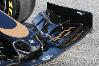 Haas F1 Team : vue détaillée du nez