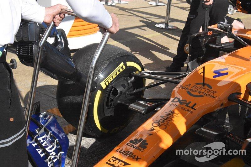 Detalle técnico de McLaren