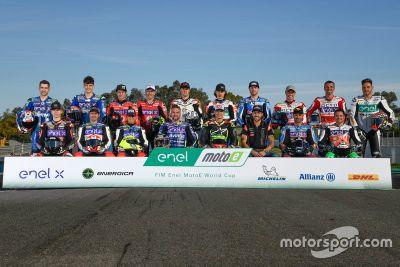 MotoE-Test in Jerez