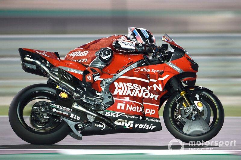 10º Danilo Petrucci, Ducati Team - 1:54.818