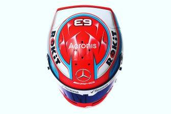 Helmet of George Russell, Williams