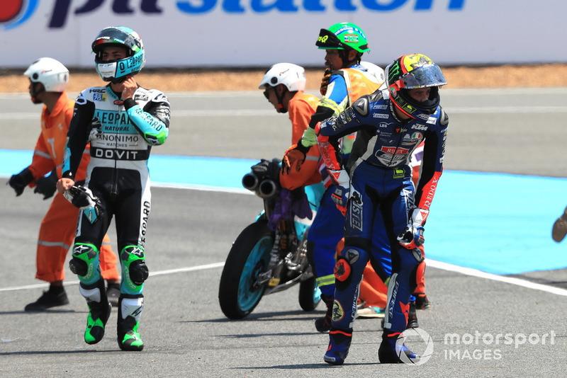 Enea Bastianini, Leopard Racing nd Marco Bezzecchi, Prustel GP