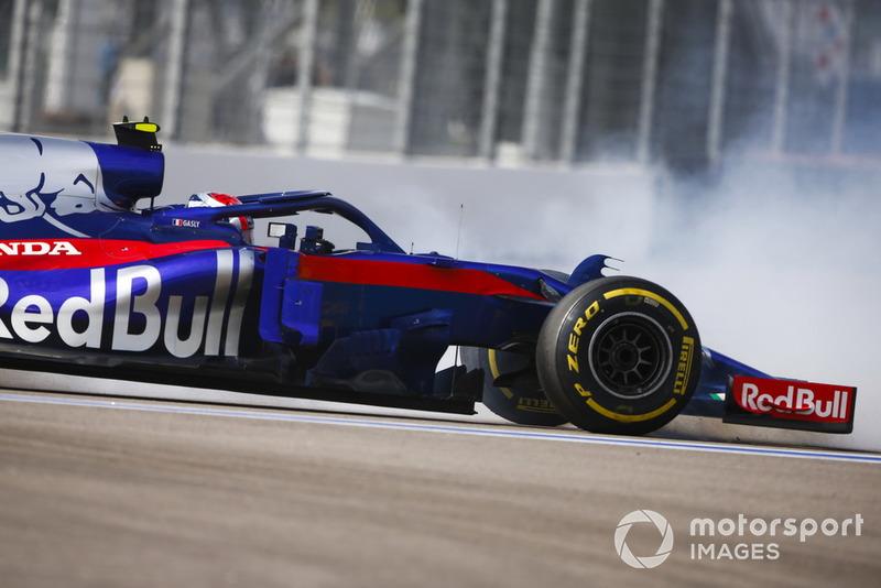 Toro Rosso'nun şanssızlığı