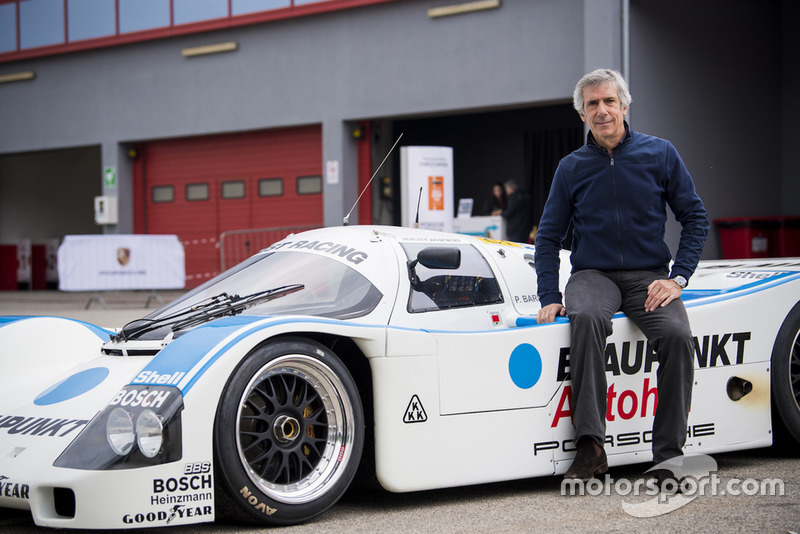 Paolo Barilla con la Porsche 962