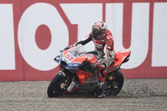 Ausritt: Michele Pirro, Ducati Team