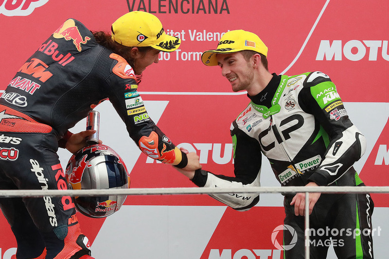 Podyum: Yarış galibi Can Öncü, Red Bull KTM Ajo , 3. John McPhee, CIP Green Power