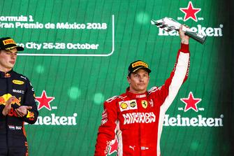 Обладатель третьего места Кими Райкконен, Ferrari