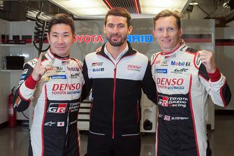 Polesitter #7 Toyota Gazoo Racing Toyota TS050: Mike Conway, Kamui Kobayashi, Jose Maria Lopez
